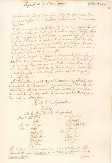 Scan des Originalprotokolls vom 07. September 1747