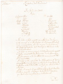 Scan des Originalprotokolls vom 24. August 1752