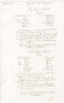 Scan des Originalprotokolls vom 02. September 1756