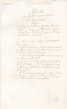 Scan des Originalprotokolls vom 06. August 1761