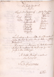 Scan des Originalprotokolls vom 30. April 1772