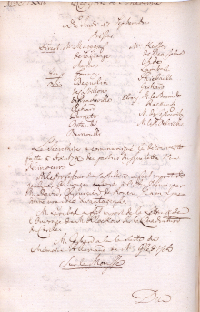 Scan des Originalprotokolls vom 17. September 1772