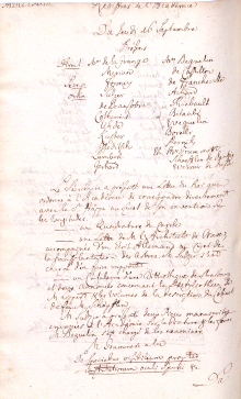 Scan des Originalprotokolls vom 16. September 1773