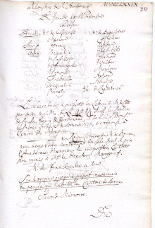 Scan des Originalprotokolls vom 18. November 1779