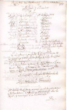 Scan des Originalprotokolls vom 09. November 1780