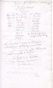 Scan des Originalprotokolls vom 23. August 1781