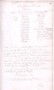Scan des Originalprotokolls vom 01. November 1781