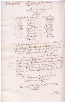 Scan des Originalprotokolls vom 05. September 1782