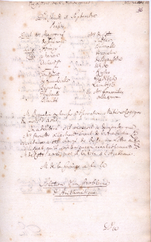 Scan des Originalprotokolls vom 1. September 1768