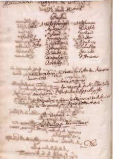 Scan des Originalprotokolls vom 14. April 1785