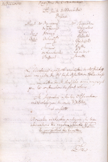 Scan des Originalprotokolls vom 3. November 1768