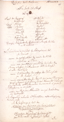 Scan des Originalprotokolls vom 24. August 1769
