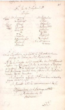Scan des Originalprotokolls vom 7. September 1769