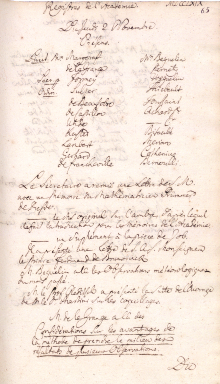 Scan des Originalprotokolls vom 2. November 1769