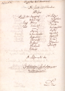 Scan des Originalprotokolls vom 23. November 1769