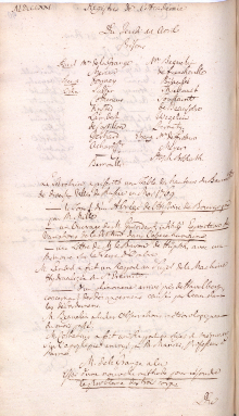 Scan des Originalprotokolls vom 11. April 1771