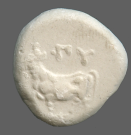 coin obverse Byzantion 110