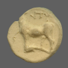 coin obverse Byzantion 1321