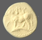 coin obverse Byzantion 1409