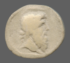 coin obverse Byzantion 557