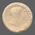 coin obverse Byzantion 635