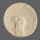 coin obverse Byzantion 214