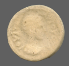 coin obverse Byzantion 383