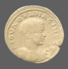 coin obverse Byzantion 1068