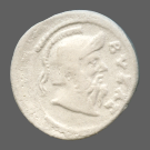 coin obverse Byzantion 658