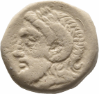coin obverse Thymbra 21400