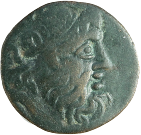 coin obverse Byzantion 460