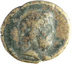 coin obverse Byzantion 564
