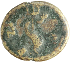 coin reverse Byzantion 564class=