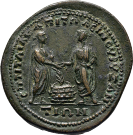 coin reverse Byzantion 762class=